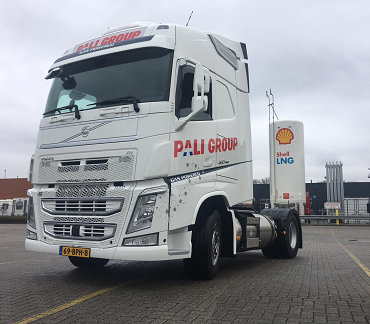 Pali Group investeert in LNG-truck