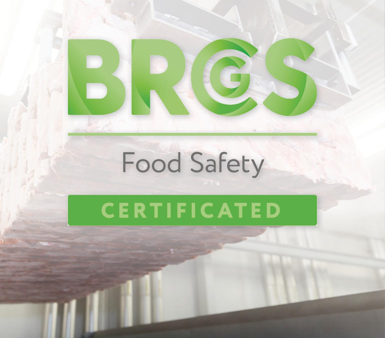 Vrieskade nu ook BRC-Food gecertificeerd