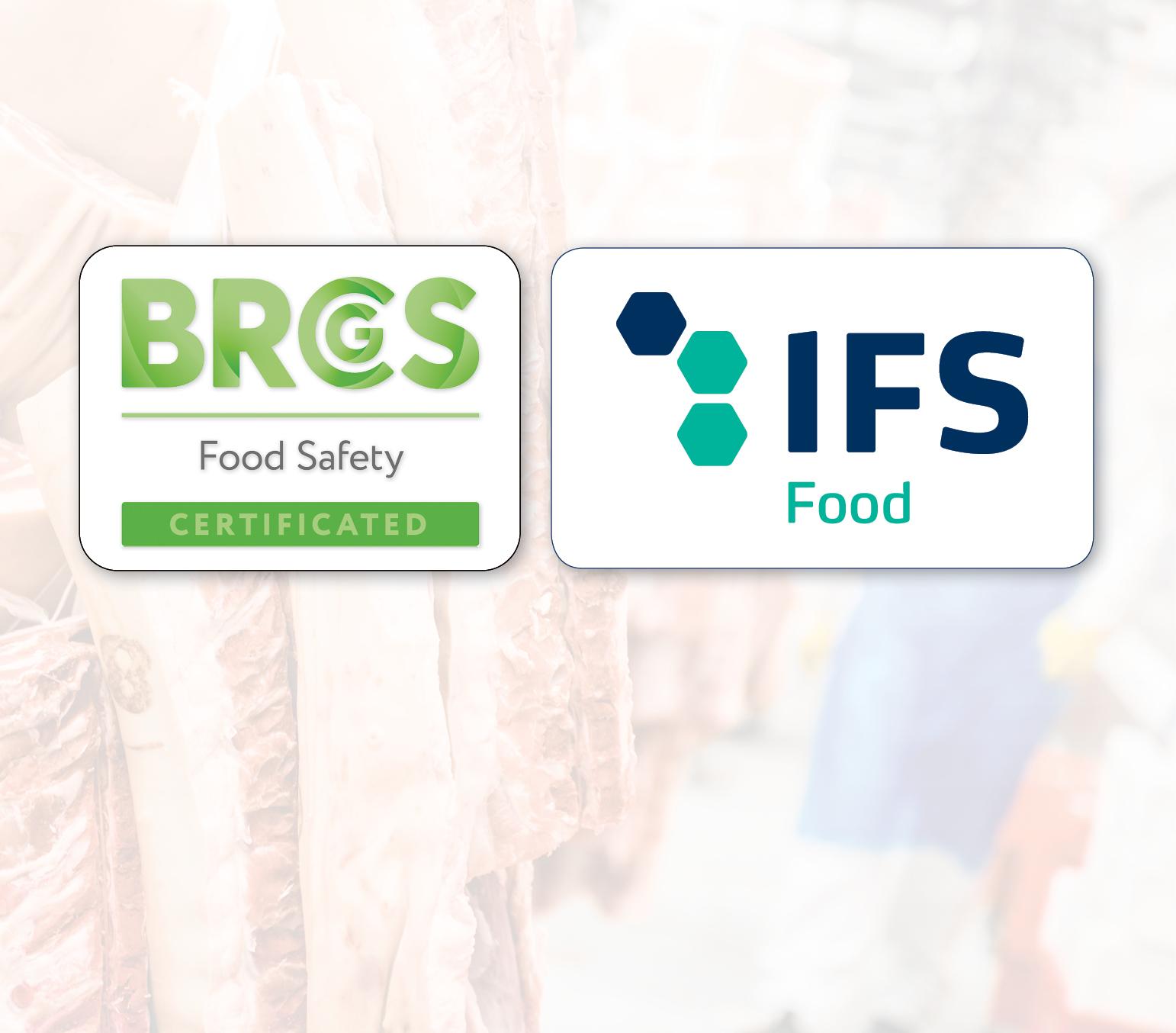 IFS en BRC certificering voor PALI Meat